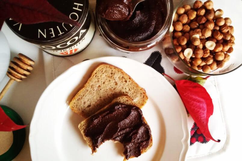 Wegańska, domowa i zdrowa Nutella - turbo krem orzechowo-czekoladowy - RAW & VEGAN