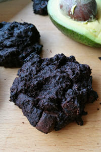 Ciastka brownie z awokado - czekoladowe ciastka fudge