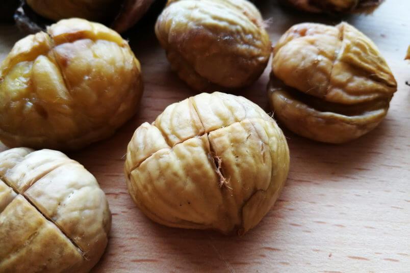 Najlepsze pieczone kasztany - jak przygotować jadalne kasztany