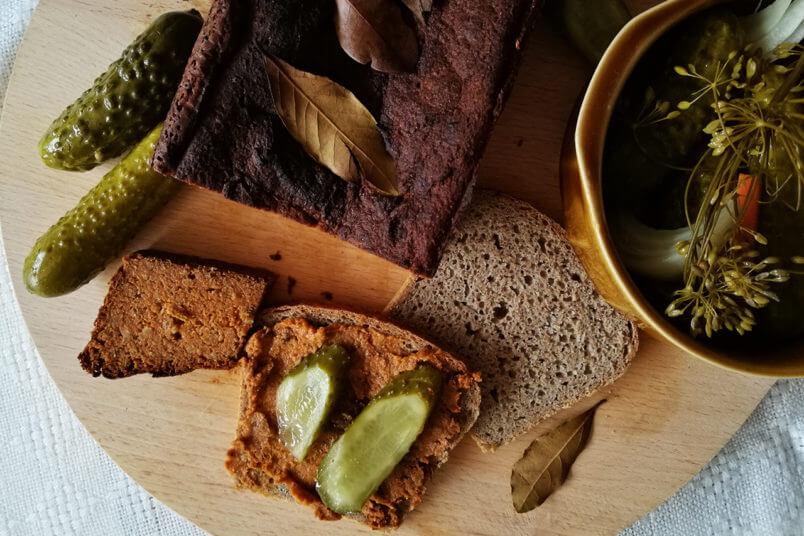 Wegański pasztet warzywny - świąteczny domowy pasztet, wegańska Wigilia