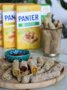 Chrupiące panierowane warzywne paluszki - wegańska i zdrowa przekąska